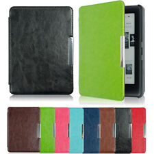 Folios case Magnetic Slim Leather Case Cover Pouch For kobo touch 2.0 eReader