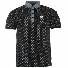 Soviet Mens AOP Polo Classic Fit Casual Jersey T Shirt Tee Top Clothing Wear