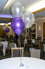 Happy Engagement Party Helium Balloons 10 Table Decorations Many Colours DIY Kit