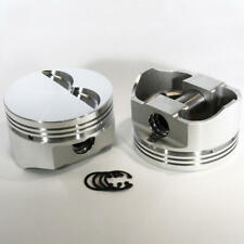 "DSS Racing 8710-4040 E Series -5cc Flat 4.040"" Forged Pistons for Chevy 383 SBC"