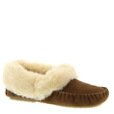 NEW BEARPAW Michelle 1805W (Women's) LEATHER SHEEPSKIN SLIP ON CLOGS SLIPER