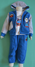 NEW Boy Monkey 3 pieces winter set Size 0000,000,00,0,1,2