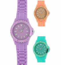 Reflex Rotating Bezel Silicone Strap Ladies Girls Sports Watch xmas Gift for Her