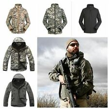 Men's Tactical Casual Jacket Outdoor Camping Outerwear Army Coat Waterproof Suit