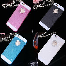 Ultra Thin Bling Glitter Crystal Hard Back Phone Slim Case Cover For iPhone New