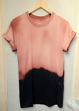 NEW tie dye t shirt acid wash urban ombre hipster retro indip dye festival top
