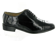 Mens Montecatini Black Patent Leather Shiny Formal Dress Wedding Shoes Size 6-12