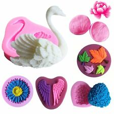 3D Silicone Mold For Fondant Cake Chocolate Decorating Candy Pastry Home Mould