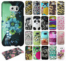 For Samsung Galaxy S6 EDGE Rubberized HARD Protector Case Snap On Phone Cover