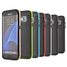 Soft Silicone Gel Case Cover for Samsung Galaxy S7 Edge + Screen Protector