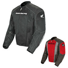 JOE ROCKET MENS HONDA CBR MESH ARMORED WATERPROOF MOTORCYCLE JACKET