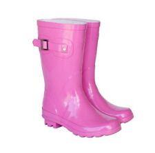 NEW Pink Kids Childrens Skeanie Gumboots Wellies Rainboots