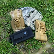Durable Camo Nylon Belt Loop Holster Mobile Phone Pouch Bag Camping Tool Useful