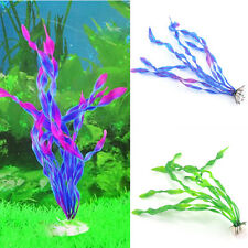 Plastic Aquarium Plants fresh/salt Water Fish Tank Ornament Plant Decor supply