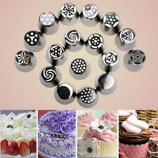 Portable 1pcs Russian Tulip Icing Piping Nozzles Cake Decoration Decor Tips Tool