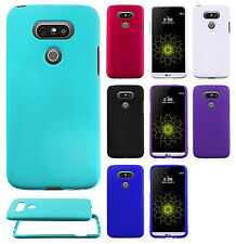For LG G5 Rubberized HARD Protector Case Phone Cover Accessory + Screen Guard