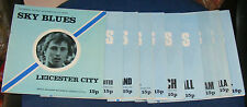 COVENTRY CITY HOME PROGRAMMES 1976-1977