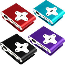 Personality Mini Clip Metal USB MP3 Player Support Micro SD TF Card Music Media