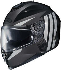 HJC IS-17 Grapple MC-5 Full Face Motorcycle Helmet Black Reflective