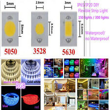 5M/Lot 300LED SMD 3528/5050/5630 waterproof IP65/IP20 RGB  Flexible Strip Light