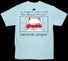 Merican Proper Crab Boil In Cooler Unisex Designed by Simply Southern Tee