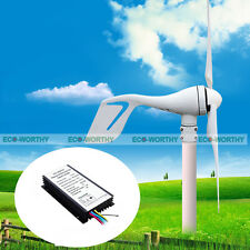 400W-720W Hybrid System:400W DC Wind Turbine Generator & Solar Panel for Home