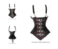 Full Steel Boned Heavy Lacing Brocade Underbust Shaper Corset #HC8580(BRO)