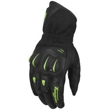 Furygan Aero Green Short Summer Gloves Motorcycle Motorbike Mens Black SALE