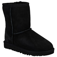 Infant Girls Ugg Australia Classic Sheepskin Boots In Black From Get The Label