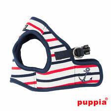 Dog Puppy Harness Soft Vest - Puppia - Capitane - Navy Blue - Choose Size