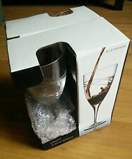 BNIB wine glasses set of 4 etched glass patterned from Debenhams