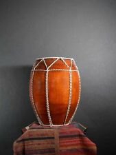 Tribal Drum From Golden Triangle / Gut & Wood