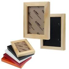 Home Decor 10.9*8.9 Inch Wooden Picture Frame Wall Mounted Hanging Photo Fram