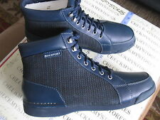 NIB NEW MEN'S ROCKPORT  K60142 Leather 7100 Mid Ankle  boot
