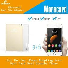 Qutiger Bluetooth Extended Dual Sim Dual Standby Adapter for iPhone iTouch L3D1