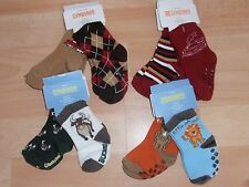 NWT BOYS GYMBOREE SOCKS 0-3, 3-6, 6-12 MONTHS TRAIN, BULL, TIGER, WHALE, PENGUIN