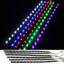2x 12 LED 30CM Car Grill Flexible Waterproof Light Strip SMD 12V Sales