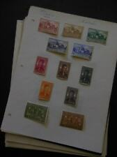SPAIN : Old Time Mint & Used collection on pages.