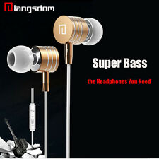 3.5mm In-Ear Earphone Super Bass Headphone Stereo Headset Earbuds Earphone & Mic