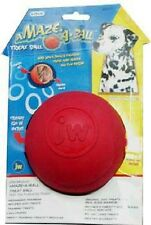JW Pet TREAT PUZZLER Dog Ball Training Treat Dispensing Med or Lrg COLORS VARY