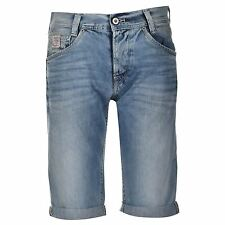 Pepe Jeans Mens Spike Shorts Pants Summer Casual Pockets Trousers