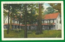 """HOTEL """"THE SHADES"""" MOST PICTURESQUE SUMMER RESORT IN~VINTAGE POSTCARD~"""