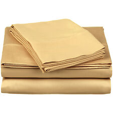 Sheet Set 300-Thread Ultra Soft Egyptian Cotton, Deep Pocket, 19 Colors