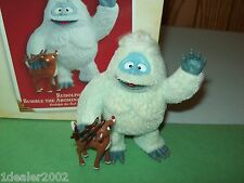 Hallmark Rudolph Reindeer & Bumble the Abominable Snow Monster 2005 Ornament