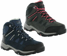 Hi-Tec Bandera Leather Waterproof Suede Walking Hiking Trail Womens Boots