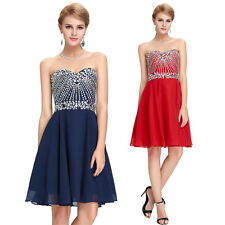 Summer Short Mini Homecoming Graduation Dress Ball Evening Party Cocktail Dress