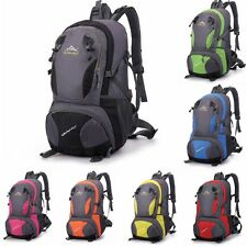 Orutdoor camping  waterproof riding hiking travel rucksack backpack Nylon 36-55L