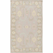 Hand-Woven Kenly Southwestern Style Wool Rug (5' x 8')