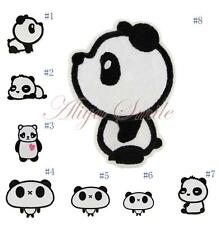 Cartoon Panda Embroidered Applique Iron On Patch Sew Clothes DIY Accessories New