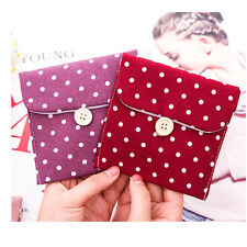 Women's New Convenient Sanitary Napkin Towel Polka Dot Sanitary Pad Holders